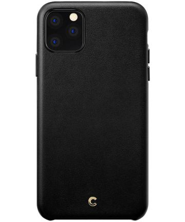 Spigen Ciel by Cyrill Basic iPhone 11 Pro Max Hoesje Leather Black Hoesjes