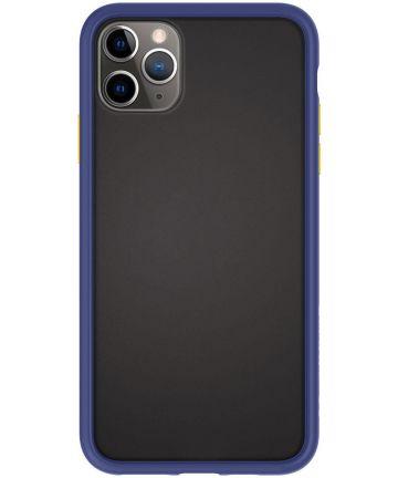 Spigen Ciel by Cyrill Color Brick Apple iPhone 11 Pro Hoesje Navy Hoesjes