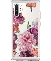 Spigen Ciel by Cyrill Cecile Galaxy Note 10 Plus Hoesje Rose Floral