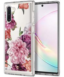 Spigen Ciel by Cyrill Cecile Galaxy Note 10 Hoesje Rose Floral
