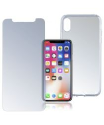4smarts 360° Protection Limited Cover Apple IPhone XS / X Transparant