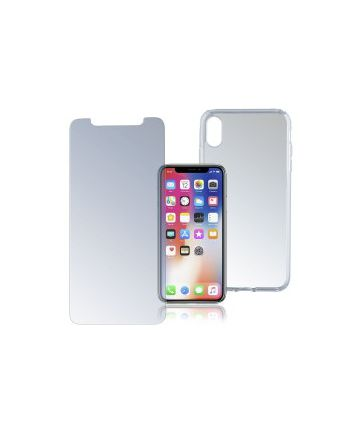 4smarts 360° Protection Limited Cover Apple IPhone XS / X Transparant Hoesjes
