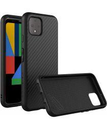 RhinoShield SolidSuit Google Pixel 4 Hoesje Carbon Zwart