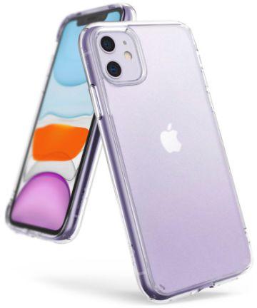 Ringke Fusion Matte Apple iPhone 11 Hoesje Transparant Hoesjes