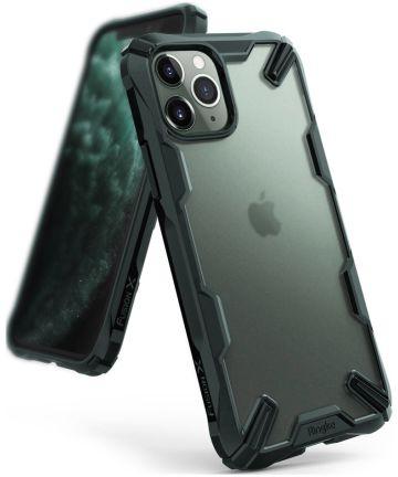 Ringke Fusion X Matte Apple iPhone 11 Pro Hoesje Groen Hoesjes