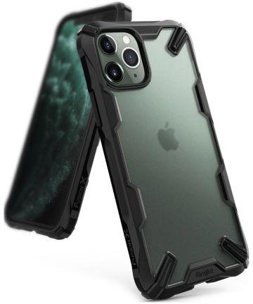 Ringke Fusion X Matte Hoesje Apple iPhone 11 Pro Max Zwart Hoesjes