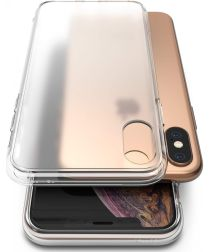 Ringke Fusion Matte Edition Apple iPhone XS / X Hoesje Transparant