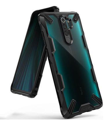 Ringke Fusion X Hoesje Xiaomi Redmi Note 8 Pro Zwart Hoesjes