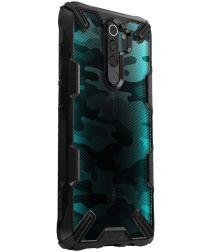 Ringke Fusion X Hoesje Xiaomi Redmi Note 8 Pro Camo Zwart