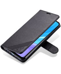 AZNS Huawei P Smart Z / Honor 9X Portemonnee Stand Hoesje Zwart