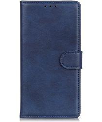 Motorola Moto E6 Plus / E6s Bookcase Hoesje Met Pasjes Blauw