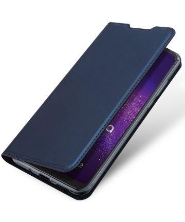 Dux Ducis Skin Pro Series Motorola One Macro Hoesje Blauw Hoesjes