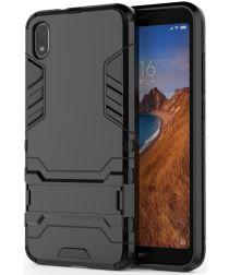 Hybride Xiaomi Redmi 7A Hoesje Zwart