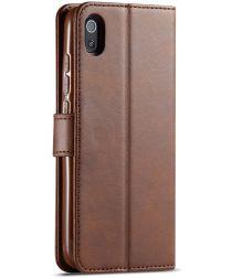Xiaomi Redmi 7A Stand Portemonnee Bookcase Hoesje Bruin