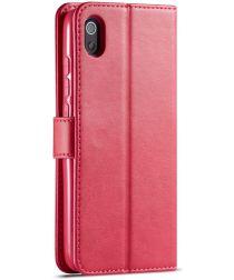 Xiaomi Redmi 7A Stand Portemonnee Bookcase Hoesje Rood