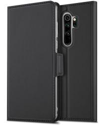Xiaomi Redmi Note 8 Pro Business Hoesje met Kaarthouder Zwart