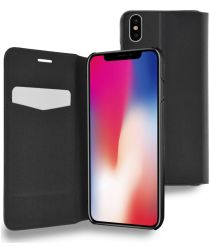 Azuri booklet iPhone X Black