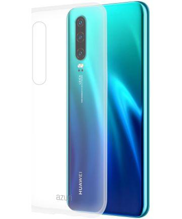 Azuri cover glossy TPU Huawei P30 Transparant Hoesjes