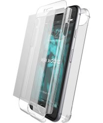 X-Doria Defense 360° iPhone 8 / 7 Plus Hoesje met 9H Glas Transparant