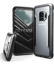 Defense Shield Samsung Galaxy S9 Hoesje Zwart Shockproof