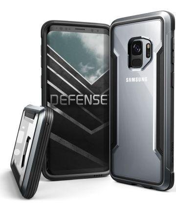 Defense Shield Samsung Galaxy S9 Hoesje Zwart Shockproof