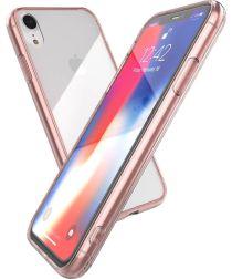 Raptic glass Plus Apple iPhone XR hoesje transparant roze
