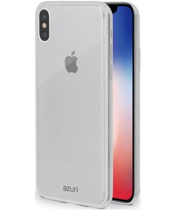 Azuri case TPU iPhone X Transparant Hoesjes