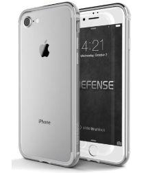 Defense Edge Apple iPhone SE 2020 Hoesje Bumper Zilver