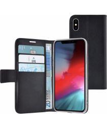 Azuri wallet magnetic close en 3 cards voor iPhone Xs Max