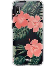 HappyCase Samsung Galaxy A10 Flexibel TPU Hoesje Tropic Vibe Print