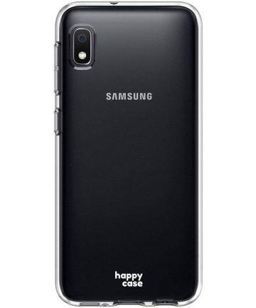 HappyCase Samsung Galaxy A10 Flexibel TPU Hoesje Clear Print Hoesjes