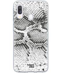 HappyCase Samsung Galaxy A20E Flexibel TPU Hoesje Slangen Print
