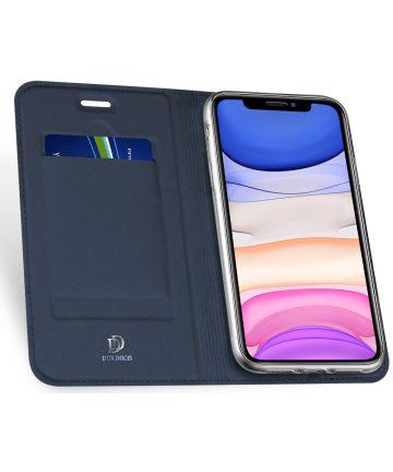 Dux Ducis Skin Pro Series Apple iPhone 11 Hoesje Blauw Hoesjes