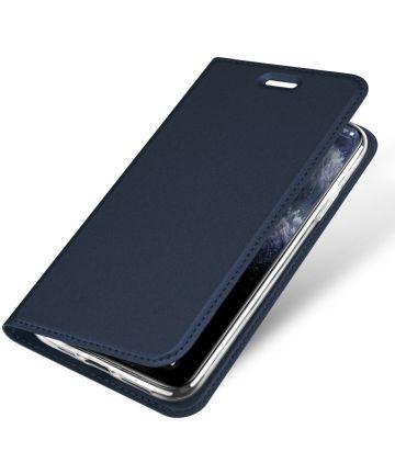 Dux Ducis Skin Pro Series Apple iPhone 11 Pro Max Flip Hoesje Blauw Hoesjes