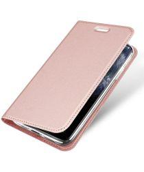Dux Ducis Skin Pro Series Apple iPhone 11 Pro Max Flip Hoesje Roze
