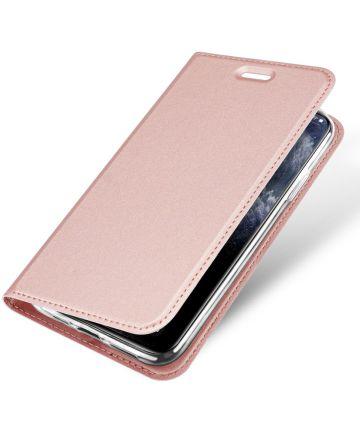 Dux Ducis Skin Pro Series Apple iPhone 11 Pro Max Flip Hoesje Roze Hoesjes
