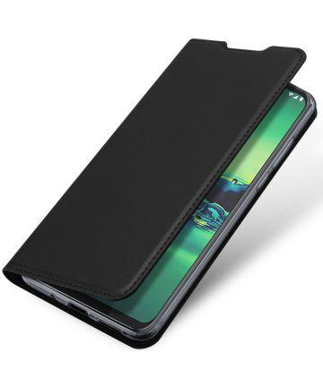 Dux Ducis Skin Pro Series Motorola Moto G8 Plus Flip Hoesje Zwart