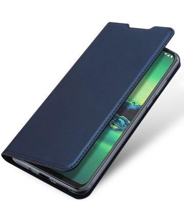 Dux Ducis Skin Pro Series Motorola Moto G8 Plus Flip Hoesje Blauw