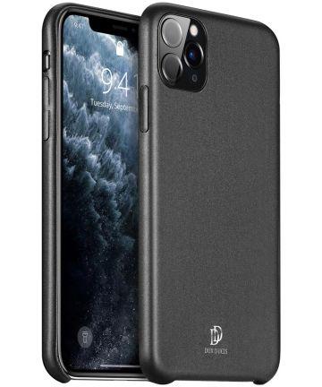 Dux Ducis Skin Lite Series Apple iPhone 11 Pro Hoesje Zwart Hoesjes