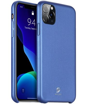 Dux Ducis Skin Lite Series Apple iPhone 11 Pro Max Hoesje Blauw Hoesjes