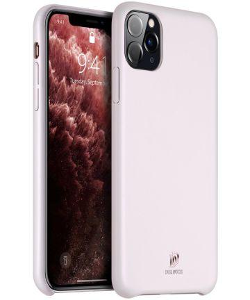 Dux Ducis Skin Lite Series Apple iPhone 11 Pro Max Hoesje Roze Hoesjes