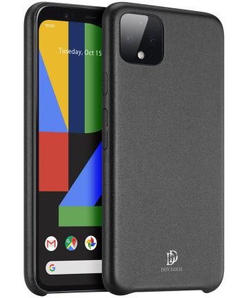 Dux Ducis Skin Lite Series Google Pixel 4 Hoesje Zwart Hoesjes