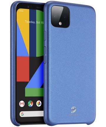 Dux Ducis Skin Lite Series Google Pixel 4 Hoesje Blauw Hoesjes