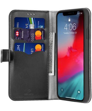 Dux Ducis Kado Series Apple iPhone 11 Pro Max Portemonnee Hoesje Zwart Hoesjes