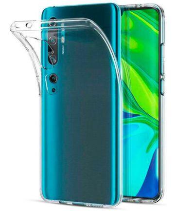 Xiaomi Mi Note 10 (Pro) Hoesje Dun TPU Transparant Hoesjes