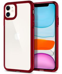 Spigen Ultra Hybrid Apple iPhone 11 Hoesje Red Crystal