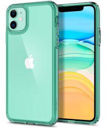 Spigen Ultra Hybrid Apple iPhone 11 Hoesje Green Crystal
