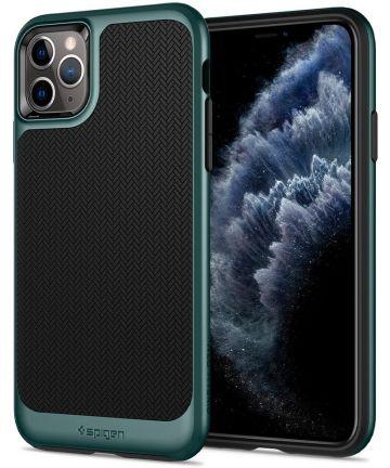 Spigen Neo Hybrid Apple iPhone 11 Pro Hoesje Midnight Green Hoesjes