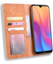 Xiaomi Redmi 8A Retro Portemonnee Hoesje Bruin