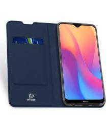 Dux Ducis Premium Book Case Xiaomi Redmi 8A Hoesje Blauw